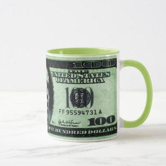 Caserne Obama 100 tasse de billet d'un dollar