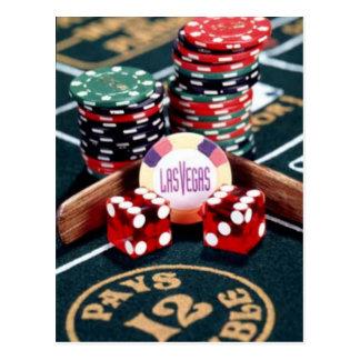 Casino de Las Vegas Carte Postale