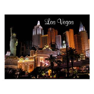 Casinos de bande de Las Vegas, carte postale du
