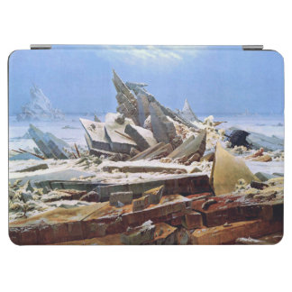 CASPAR DAVID FRIEDRICH - la mer de la glace 1824 Protection iPad Air