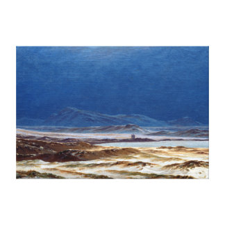Caspar David Friedrich Riesengebirge Toile