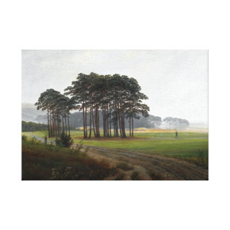 Caspar David Friedrich The Times de midi de jour Toile