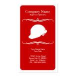 casque antichoc de sapeur-pompier de mod carte de visite