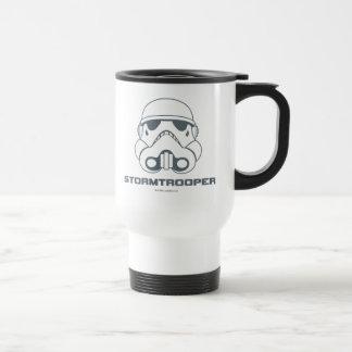Casque brutal de Star Wars Mug De Voyage En Acier Inoxydable
