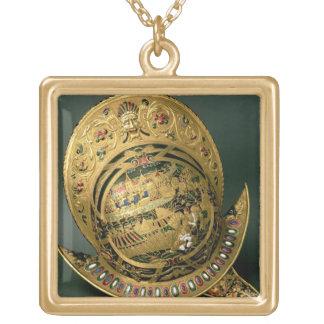 Casque de 1550-74) XVIème siècle de Charles IX ((o Collier Plaqué Or