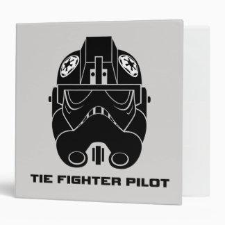 Casque de pilote d'avion de chasse de cravate de classeur 5,08 cm