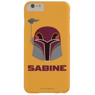 Casque de Star Wars la Sabine Coque Barely There iPhone 6 Plus