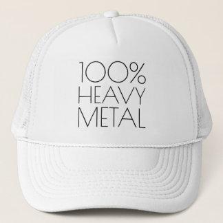 Casquette 100 pour cent de métal lourd drôle