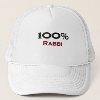 Casquette 100 pour cent Rabbin