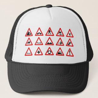 Casquette 15 signalisations de triangle