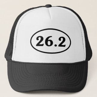 Casquette 26,2 Ovale de marathon (#Sou1)