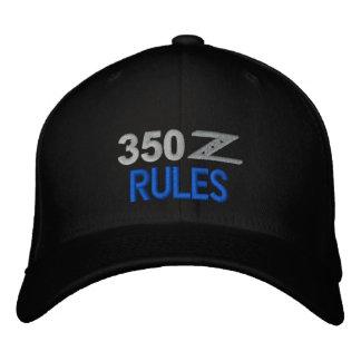 casquette 350Z brodé par règles