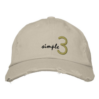 Casquette 3 simple
