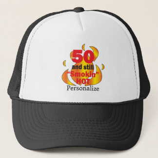 Casquette 50 et nom chaud de l'anniversaire | do-it-yourself