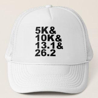 Casquette 5K&10K&13.1&26.2 (noir)