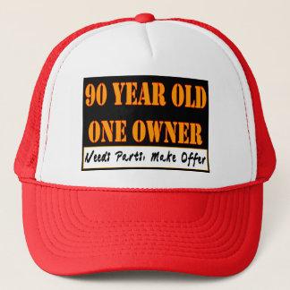 Casquette 90 ans, un propriétaire - les pièces des besoins,