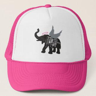 Casquette à ailes de camionneur d'éléphant