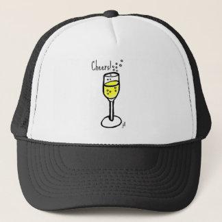 Casquette À la votre ! Croquis de Champagne par Jill