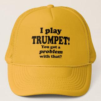 Casquette A obtenu un problème avec le ce, trompette