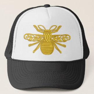 Casquette abeille royale, imitation de broderie