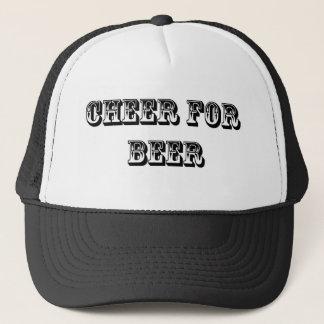 Casquette Acclamation pour la bière