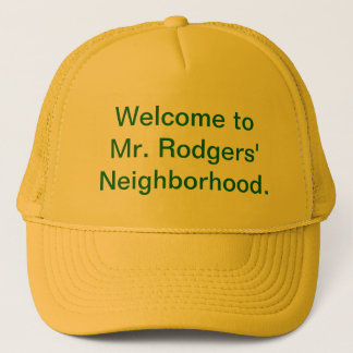 Casquette Accueil au voisinage de M. Rodgers'