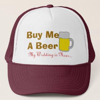 Casquette Achetez-moi une bière que mon mariage est près