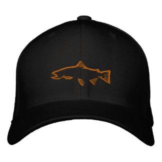 Casquette adapté de traqueur de truite - noir