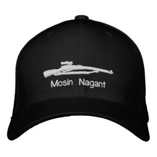 Casquette adapté par noir brodé de Mosin Nagant