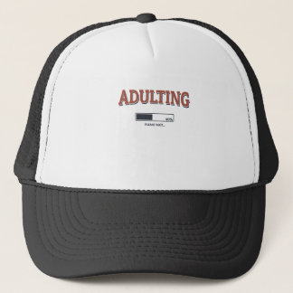 Casquette Adulting