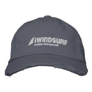 casquette affligé par bleu d'iW