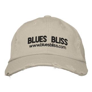 Casquette affligé par bonheur de bleus casquette brodée