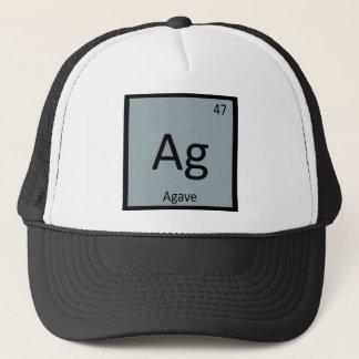 Casquette AG - Symbole de Tableau périodique de chimie de