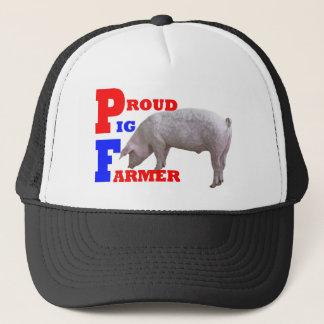 Casquette Agriculteur de porc