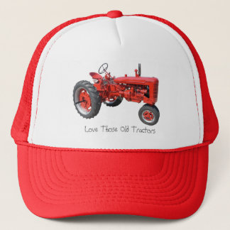 Casquette Aimez ces vieux tracteurs