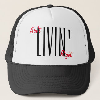 Casquette Ain't livin'right snapback by WeedGang