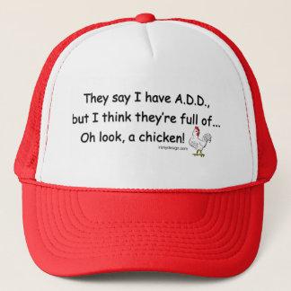 Casquette AJOUTEZ complètement des poulets