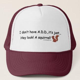 Casquette AJOUTEZ l'écureuil
