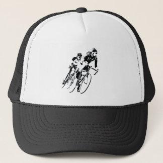 Casquette Allez à vélo les coureurs dans le tour