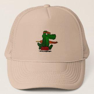 Casquette Alligator allant à la plage