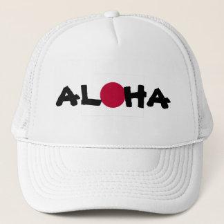 Casquette Aloha drapeau japonais d'Hawaï Soleil Levant