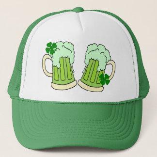 Casquette Alpha vert de pain grillé de tasse de bière