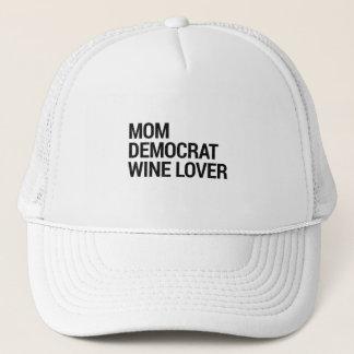 Casquette Amateur de vin de Démocrate de vin
