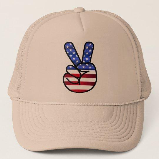 casquette America signe V comme victoire