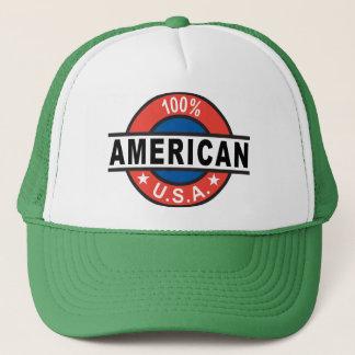 Casquette Américain de 100%