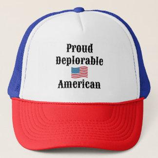 Casquette Américain déplorable fier