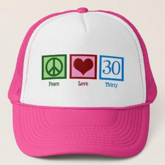 Casquette Amour 30 de paix