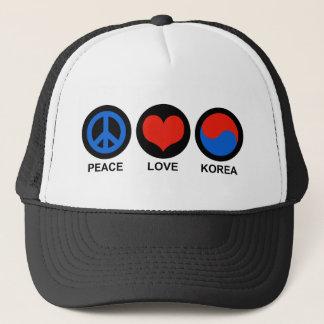 Casquette Amour Corée de paix
