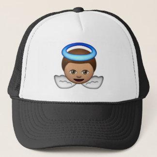Casquette amour de halo d'emoji d'ange de bébé