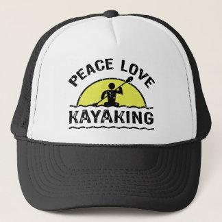 Casquette Amour de paix Kayaking